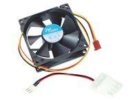 Mcl - Ventilateur + adaptateur carte mère - 90 x 90mm