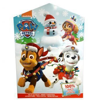 paw patrol calendrier de l 39 avent pat patrouille pas. Black Bedroom Furniture Sets. Home Design Ideas