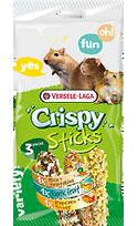 Divers - Crispy Sticks Triple Variety Pack Omnivores Versele Laga