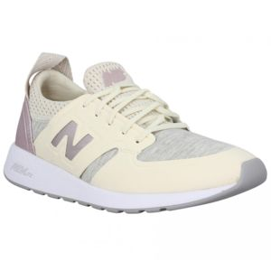 Baskets NEW BALANCE WRL 420 velours toile Femme-39-Gris
