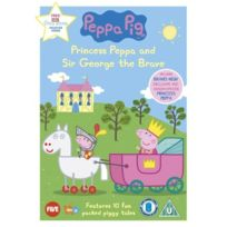 E1 Entertainment - Peppa Pig - Princess Peppa And Sir George The Brave IMPORT Anglais, IMPORT Dvd - Edition simple