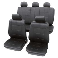 Petex - Housses de siège haute qualité Gris foncés - Ford Fusion 2007-Présent
