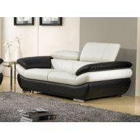 Canape noir blanc Bient´t les Soldes Canape noir blanc pas cher