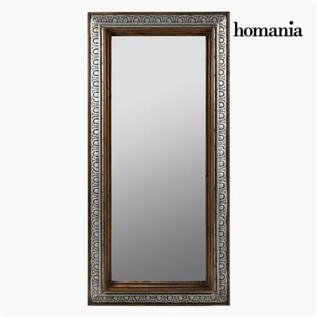 Homania miroir sur pied bronze argent collection vintage for Collection miroir
