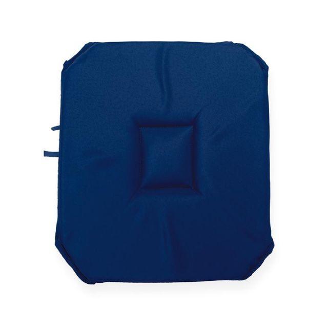 Soleil D Ocre Coussin Galette De Chaise 4 Coins Bleu Marine Pas