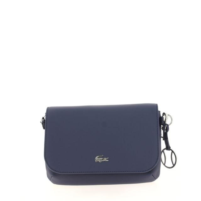 55298b3721 Lacoste - Sac crossover Daily Classic Bleu - pas cher Achat / Vente ...