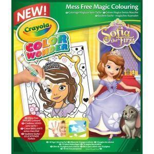 crayola princesse sofia cahier de coloriage pas cher achat vente loisirs jeux rueducommerce