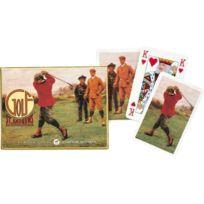Gibsons Games - Piatnik Jeu de cartes à jouer de Golf de St Andrews, à deux étages