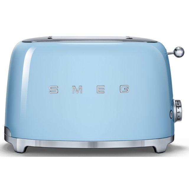 SMEG Grille-pain Bleu Azur - TSF01PBEU