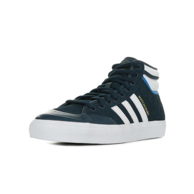 Adidas Matchcourt High Rx2 Noir, Blanc, Bleu pas cher