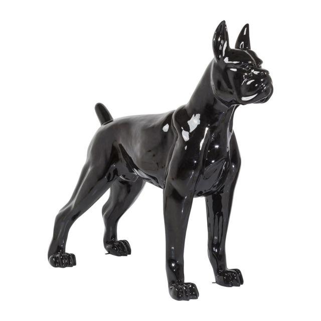 karedesign d co chien toto xxl noire kare design pas cher achat vente objets d co. Black Bedroom Furniture Sets. Home Design Ideas