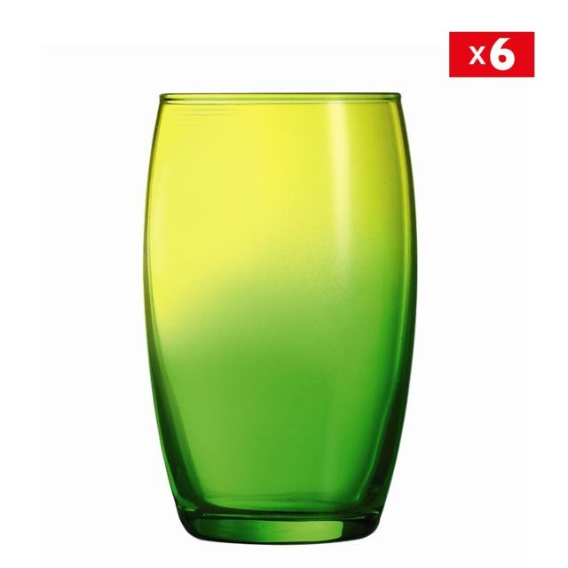 Luminarc Lot de 6 verres 35cl Duos