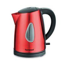 Techwood - Tbi-1035 Bouilloire ? 2000W ? 1 L ? Inox rouge