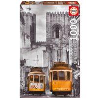 Educa - Puzzle 1000 pièces : Quartier de la Alfama, Lisbonne