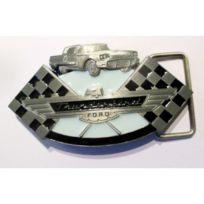 Universel - Boucle de ceinture ford thunderbird voiture ancienne officiel Usa homme femme mixte