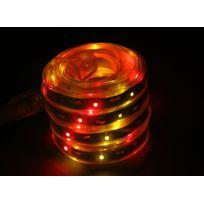 EASYCONNECT - Bandeau lumineux animé LEDS 5 m rose-fuschia-orange EASY CONNECT