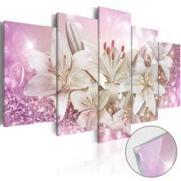 Bimago - Tableau sur verre acrylique - Pink Courtship Glass
