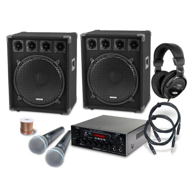 Mcgrey Dj système de karaoké Party-2500 1600W