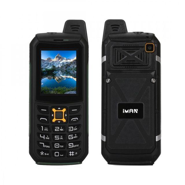Auto-hightech Téléphone robuste étanche Ip68 antichoc anti-poussière, lampe de poche Led, Fm, Tf, Bluetooth