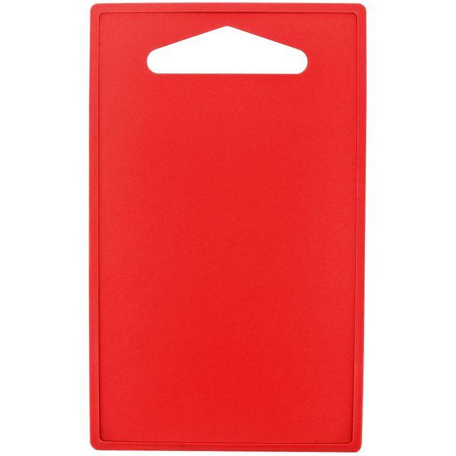 Promobo Planche à decouper Plateau Repose Plat Presentation Apéro Rouge