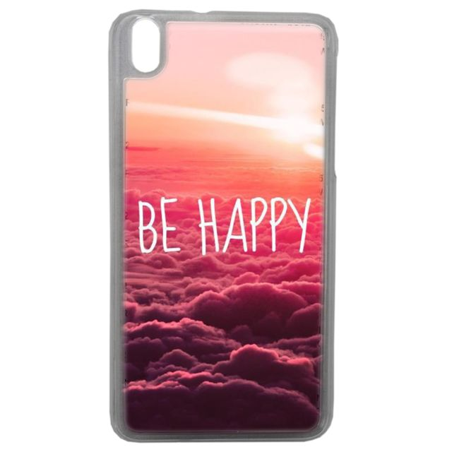 Lapinette - Coque Rigide Be Happy Love Pour Htc Desire 816