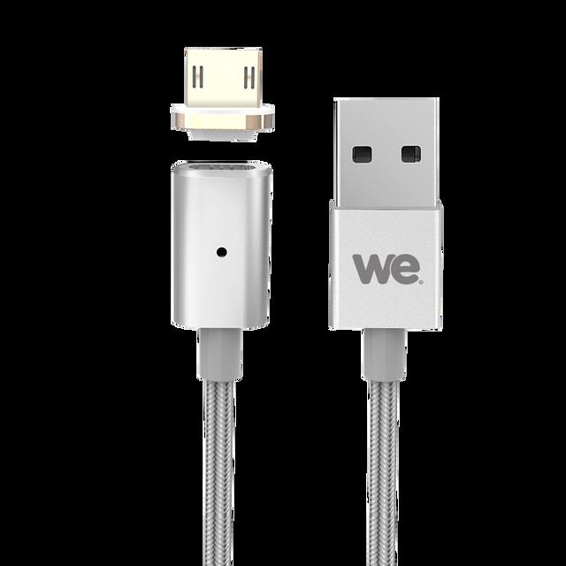 WE - Câble USB 2.0/Micro USB magnétique -
