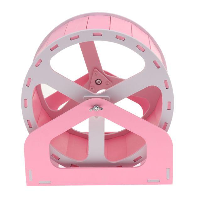 Hamster souris exercice jouet jogging jouet petits animaux roue rose