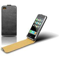 Mca - Etui Slim en cuir Apple iPhone 4