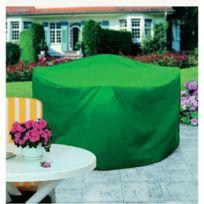RAYEN - housse de protection pour table de jardin d.160cm - 6382.10