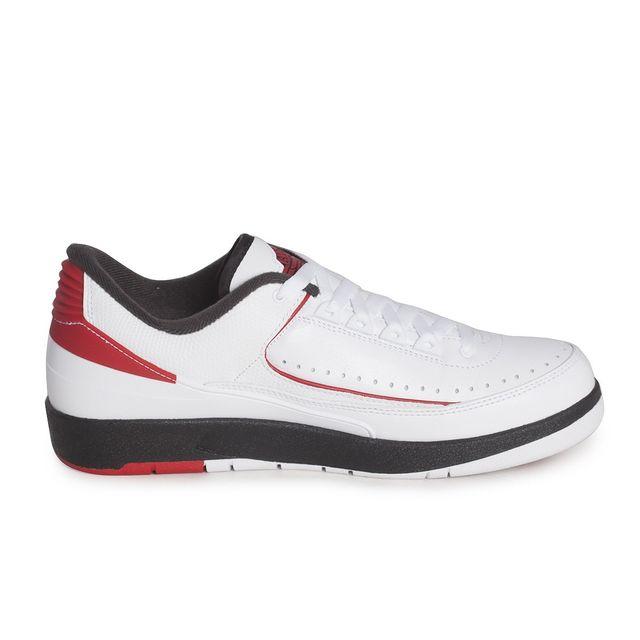 e840cb6437c Nike - Basket mode Air Jordan 2 Retro Low 832819101 Blanc - pas cher Achat    Vente Baskets homme - RueDuCommerce
