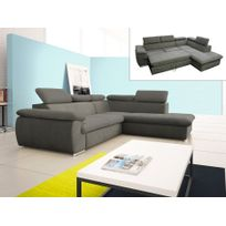 canape taupe achat canape taupe pas cher rue du commerce. Black Bedroom Furniture Sets. Home Design Ideas