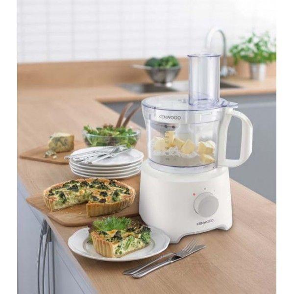KENWOOD Robot de Cuisine MultiPro Compact FDP302WH