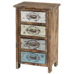 mendler commode cadiz armoire table d 39 appoint vintage. Black Bedroom Furniture Sets. Home Design Ideas