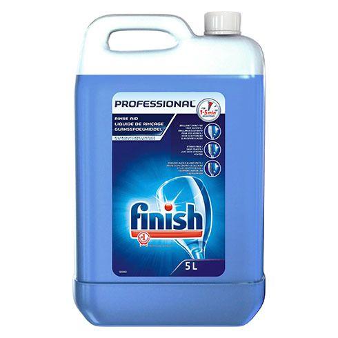 finish - liquide de rinçage lave-vaisselle calgonit - bidon 5 litres
