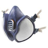 3M FRANCE - Demi masque 3M - antigaz - série 4000 - norme FFA1P2D - 4251A00