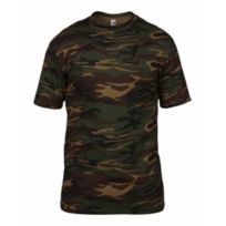 Anvil - T-shirt manches courtes army A939 Camouflage vert kaki