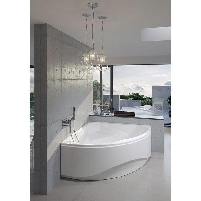 riho tablier de baignoire pour neo 150x150 cm en acrylique pas cher achat vente pare. Black Bedroom Furniture Sets. Home Design Ideas