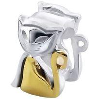 Sochicbijoux - So Chic Bijoux © Charm Chat Assis Elegant - Charms Compatibles Pandora, Trollbeads, Chamilia, Biagi - Plaqué Or & Argent 925