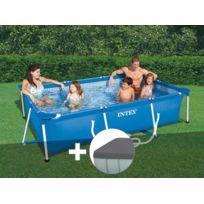 piscine tubulaire avec pompe et bache