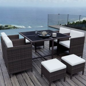 Ims Garden - Munga 8 Places - Ensemble encastrable salon / table de ...