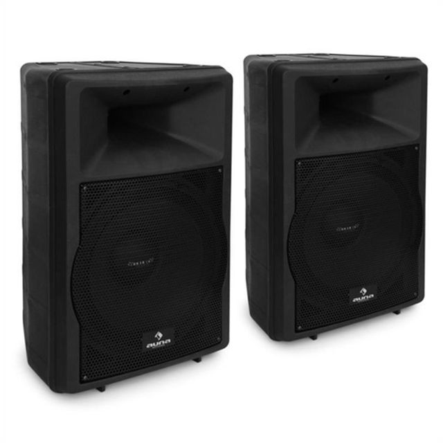 MALONE Pack sono 2 enceintes actives 30cm 2x 550w RMS