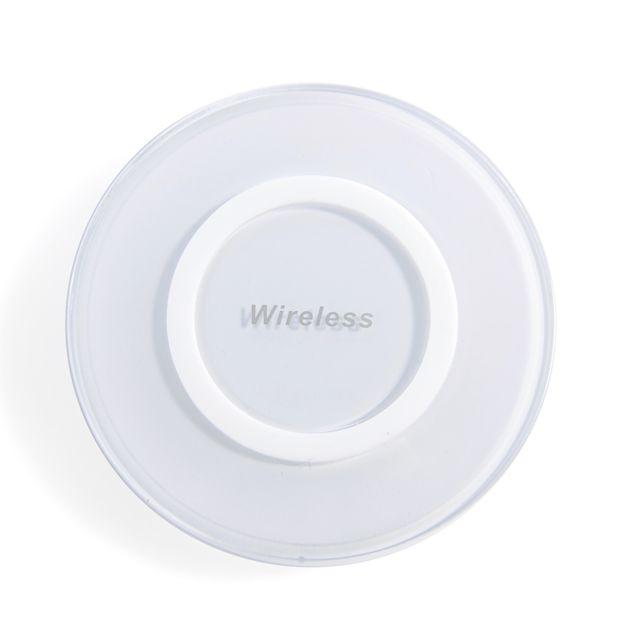 tbs tbs3518 blanc chargeur sans fil qi induction pour t l phone tablette 6watts iphone x. Black Bedroom Furniture Sets. Home Design Ideas
