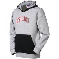 Adidas originals - Y Fnwr Hoody Gry - Sweat Basketball Chicago Bulls Garçon Adidas