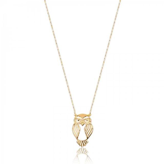 Bijoux En Vogue - Collier Plaqué Or Nature Jaune - pas cher Achat   Vente  Chaînes, colliers - RueDuCommerce 009da2df0cd9