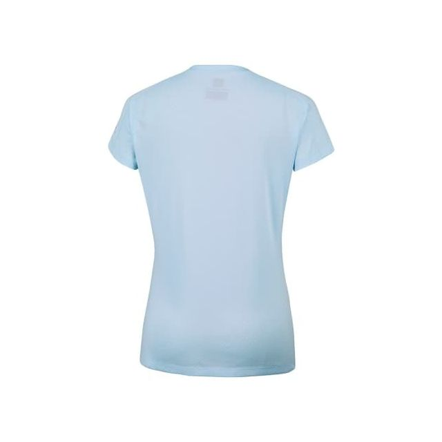 T shirt Zero Rules manche courte bleu femme