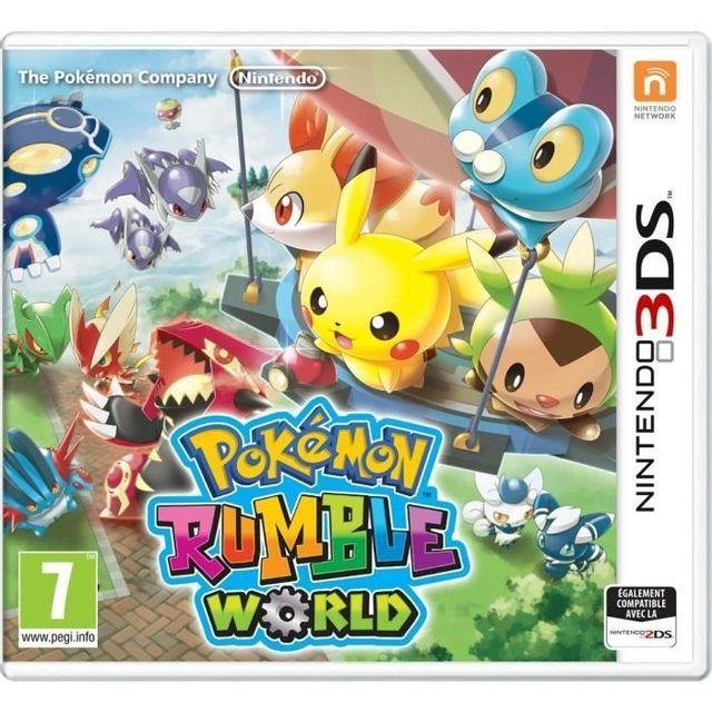 Nintendo Pokémon Rumble World Jeu 3DS