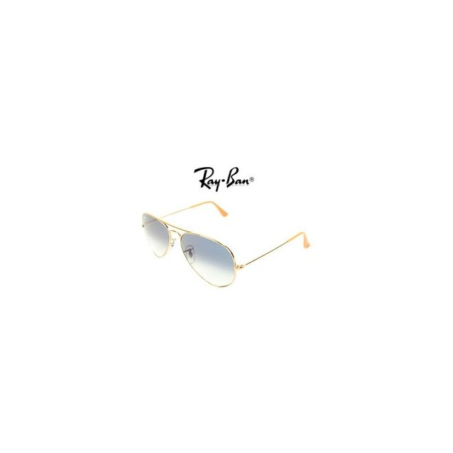 Ray-Ban - Ray Ban - Aviator metal Rb3025 001 3F Or - Lunettes de ... db7d7753610f
