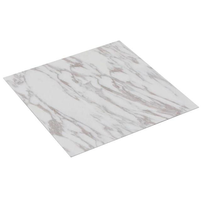 Icaverne - Tapis & revêtements de sol edition Planche de plancher PVC autoadhésif 5,11 m² Blanc Marbre