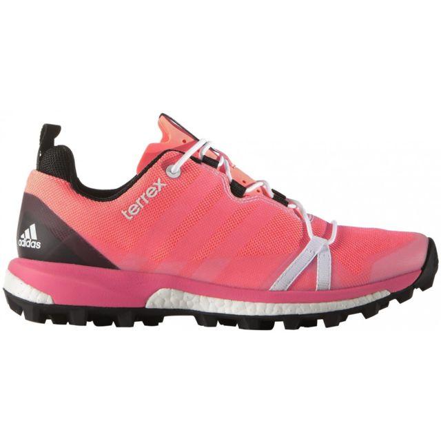 lower price with c5ea4 d7192 Adidas - Terrex Agravic W Sun Glow White. Description  Fiche technique. Des chaussures  de trail ...