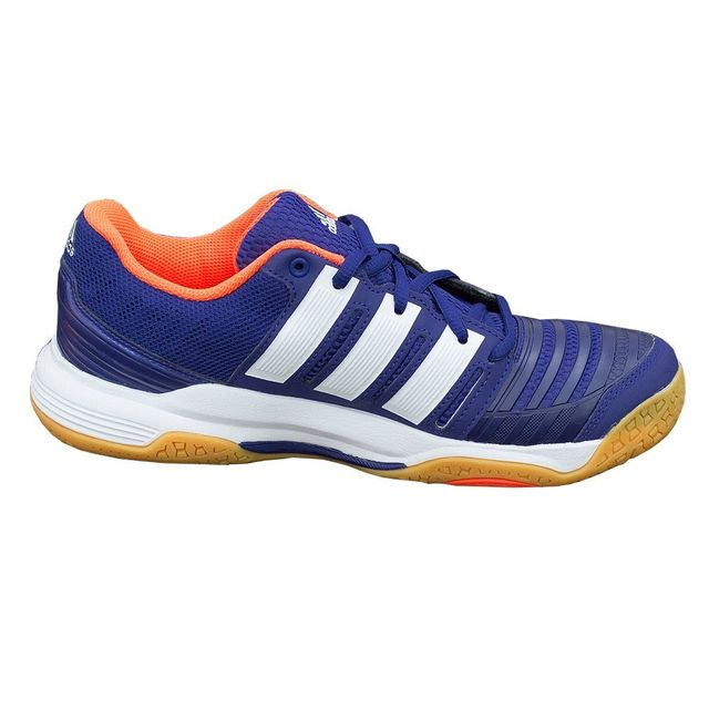 sports shoes 14d76 4e7dc Adidas - Court Stabil 11 Blanc - pas cher Achat   Vente Chaussures hand -  RueDuCommerce